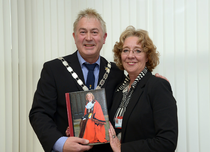 John Copsey and Shelagh Finlay