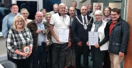 Bridlington in Bloom winners with the Councillors at the September Full Council meeting Presentations