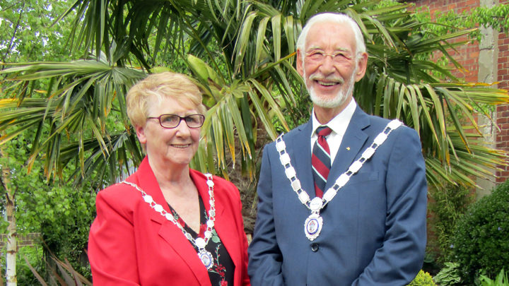 Councillors Jacqueline Foster and Cyril Marsburg